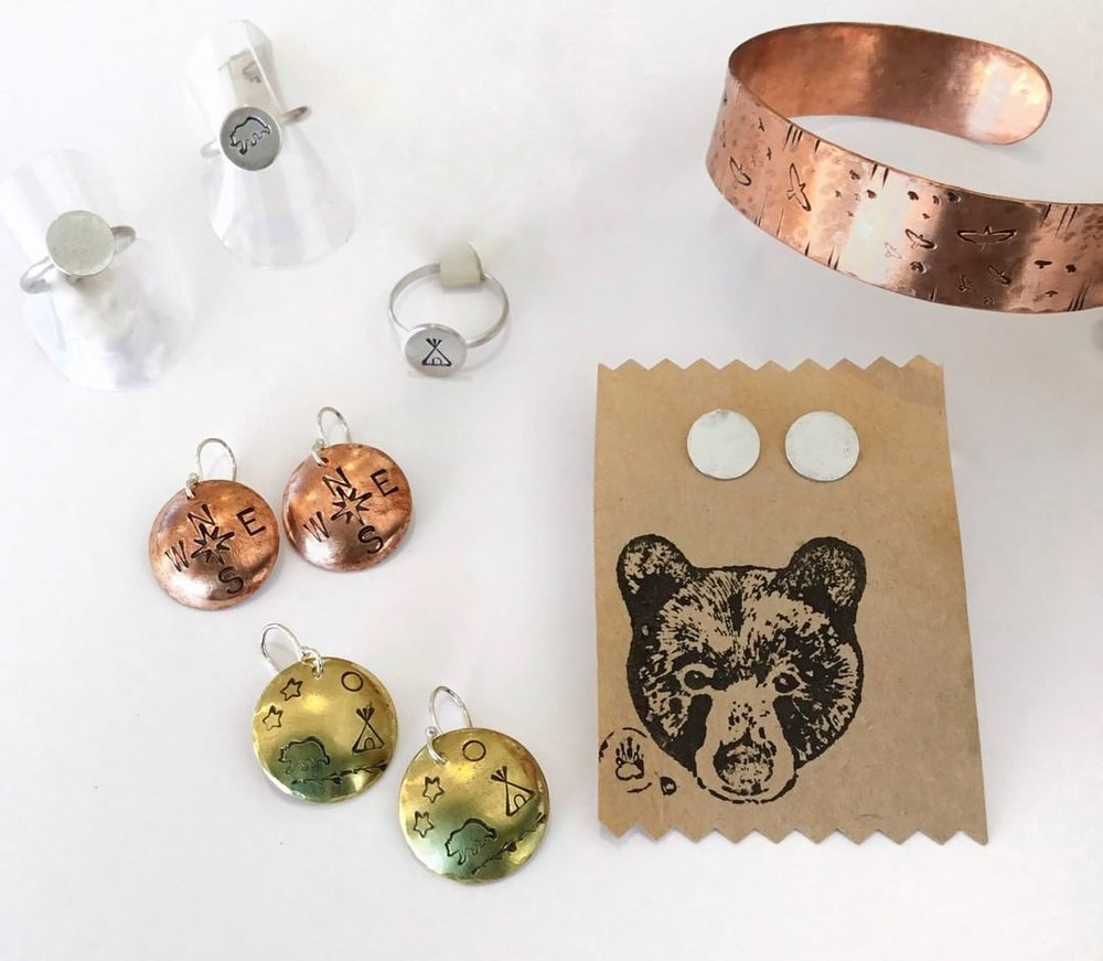 Boho Silver and Copper Jewellery