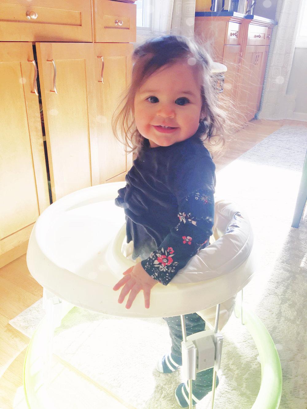 Raelyn is 1 year old | Amanda Zampelli