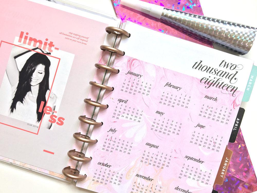 one little word™ 2018: LIMITLESS | Amanda Zampelli