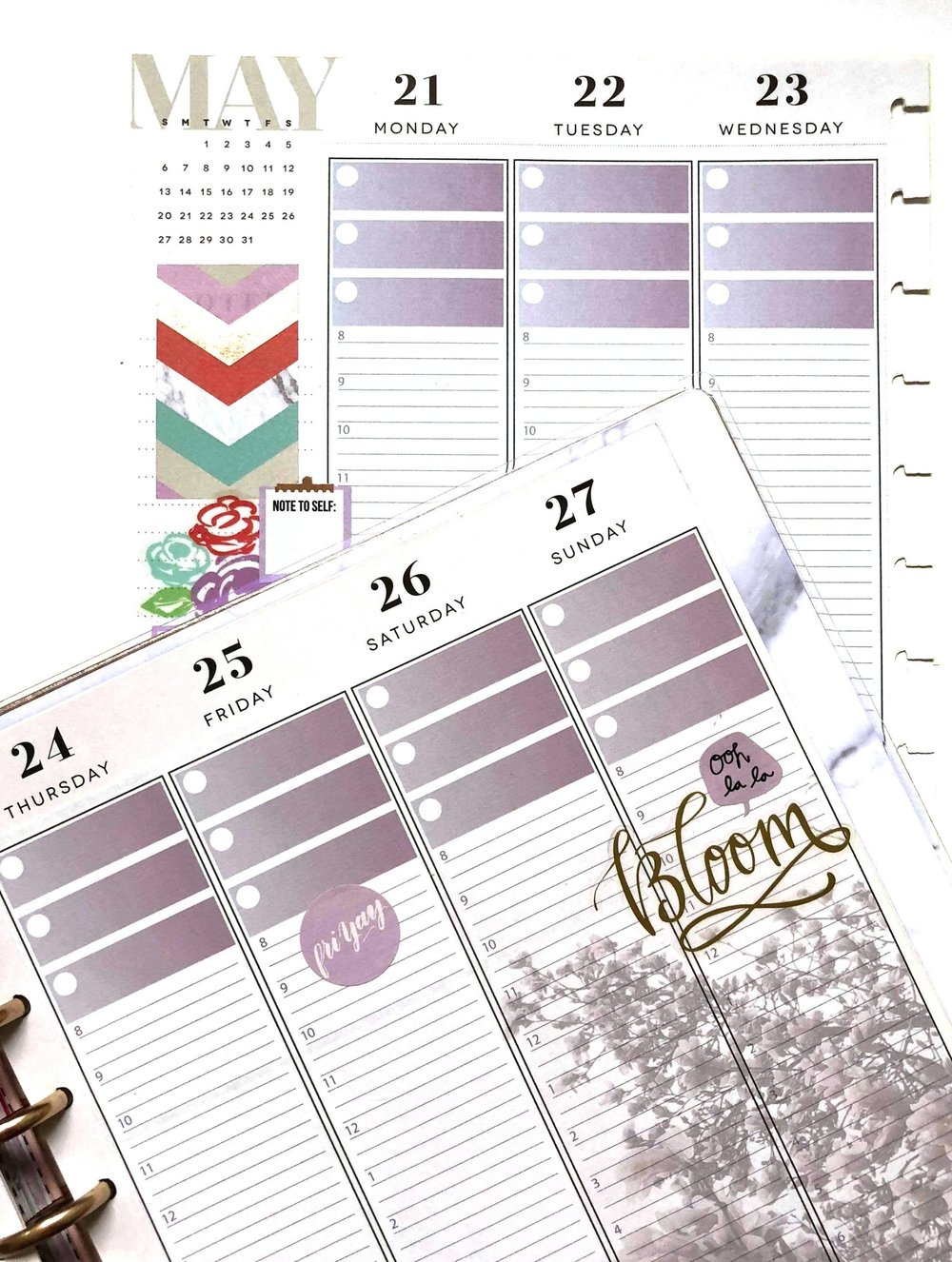 MAY 2018 Planner Strips for the Happy Planner™ | Amanda Zampelli