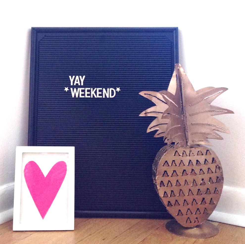 thrift store pineapple tea light holder GOLD SPRAY PAINT diy | Amanda Zampelli
