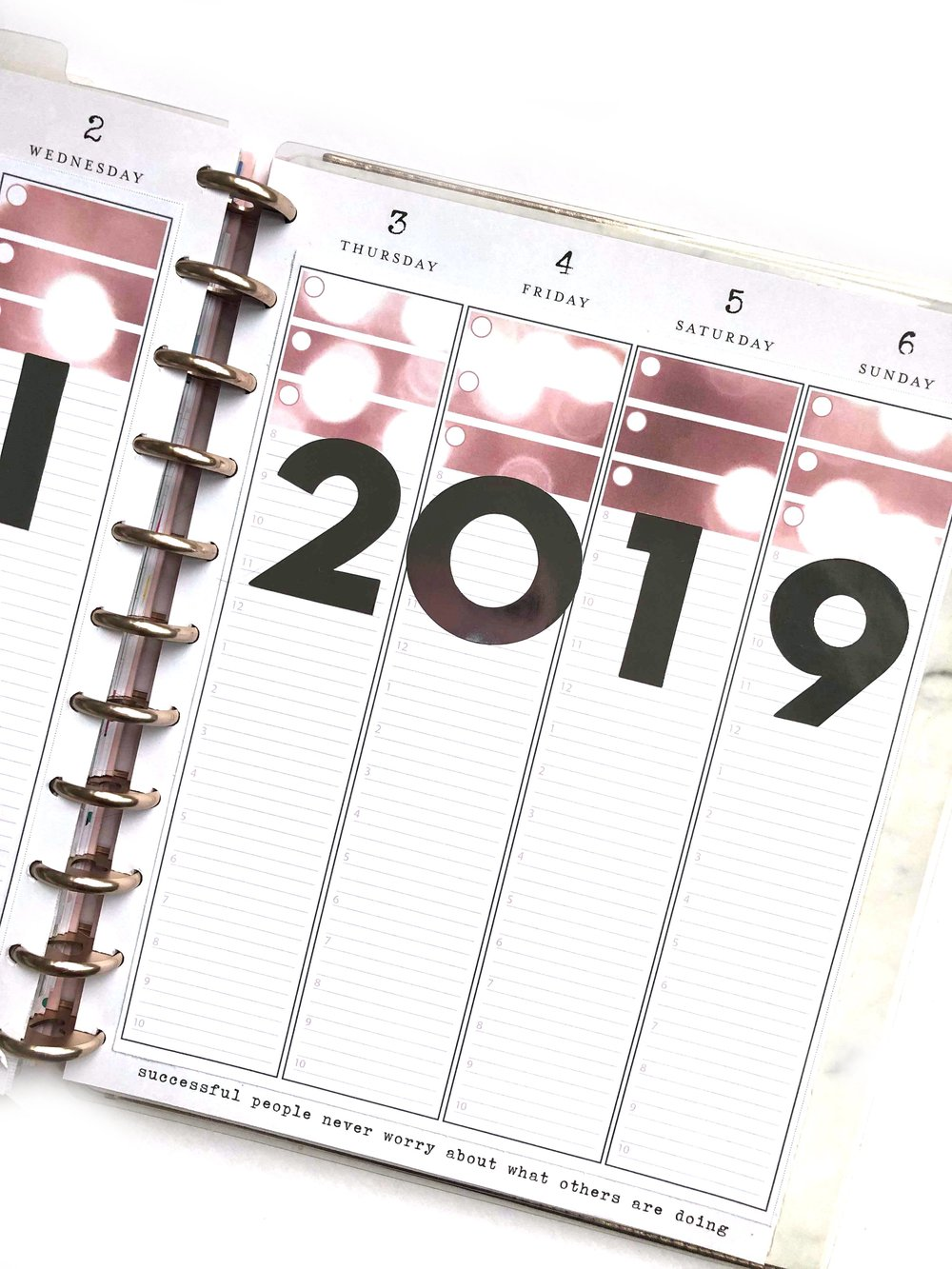 January 2019 Planner Strips for The Happy Planner® | Amanda Zampelli