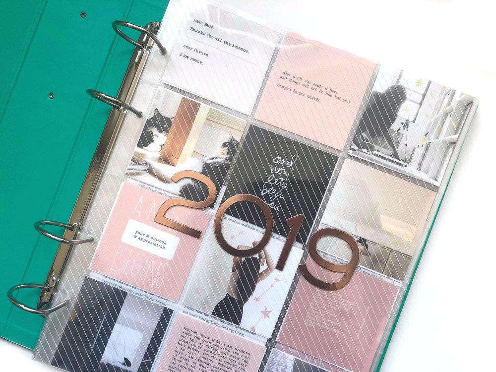 memory keeping 2019 // intro & January | Amanda Zampelli