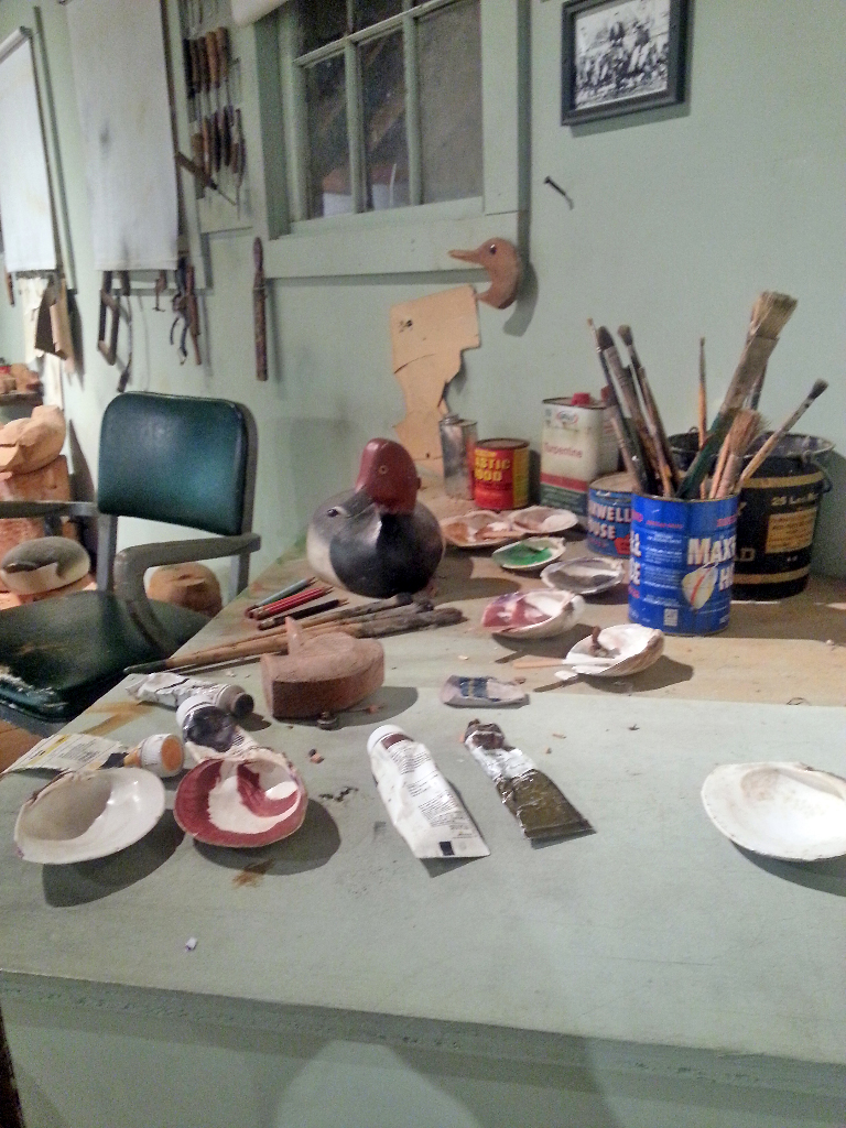 Items from the Ward studio