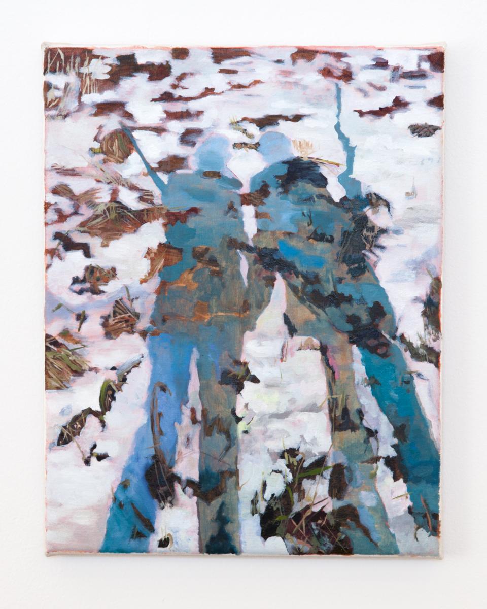 """Shadows, 2014, oil on canvas, 14"""" x 11"""""""