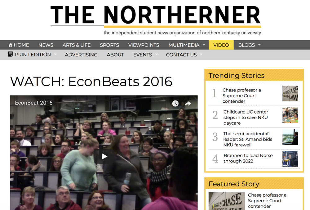 Watch: Econ Beats 2016 - Read More
