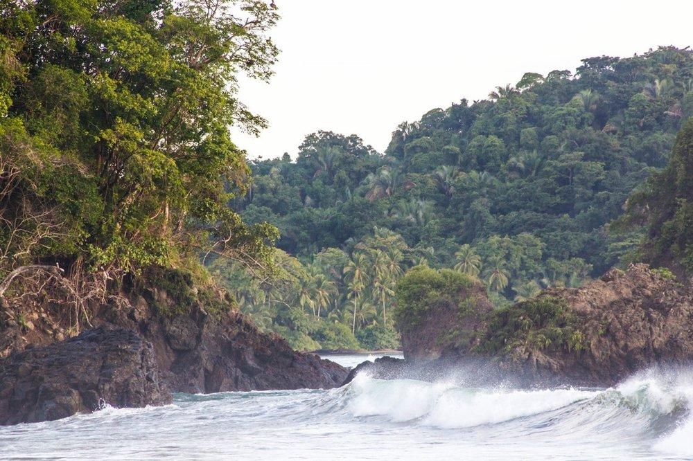 Parque Nacional Manuel Antonio - Playa Espadilla