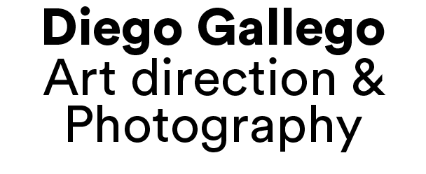 Diego Gallego – Art direction & Photography