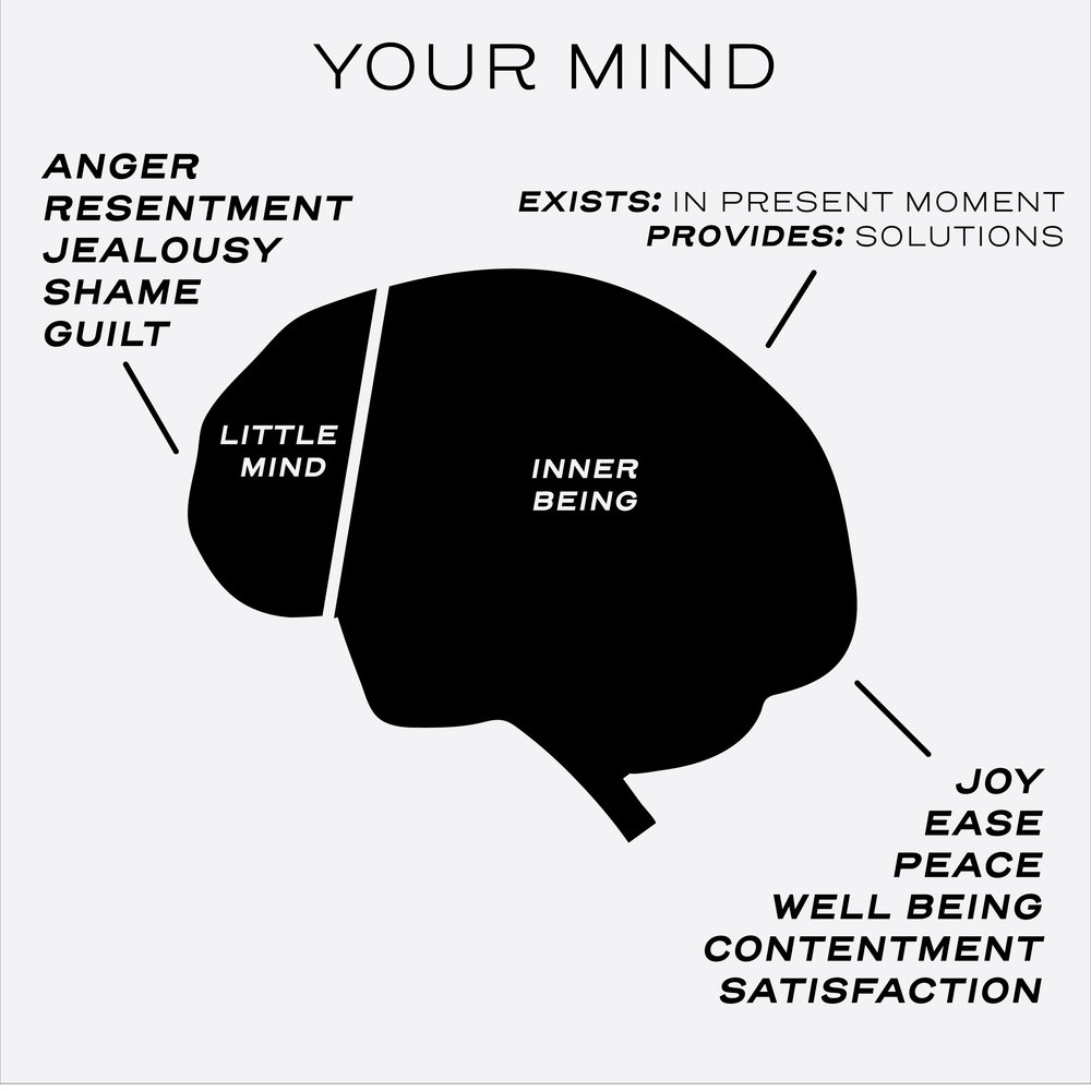 Who is Talking? If you are feeling bad or anxious, the culprit is the little mind.