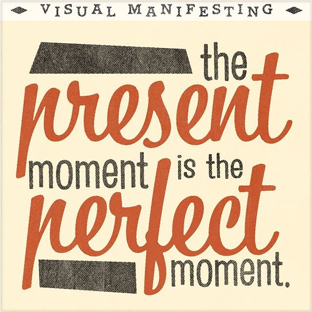 The present moment is the perfect moment.  I absolutely love this concept. Whenever I start to enter a state of overwhelm, I bring myself and my awareness back to the very nanosecond I am in.  The alignment of the present moment is the alignment with all that I want.  This allows me to clearly and quickly manifest anything I am desiring at this moment.  Speaking of #manifesting, we have a nifty Seven Days of Manifesting guide for free. 🆙 Click the link in the bio to get our free seven day guide to skyrocket your own manifestations.  #manifestingdreams #manifestation  Visual Manifesting gives tools and resources for manifesting the life of your dreams.  #loa # #positivevibes #abundance #thesecret #gratitude #affirmations #personalgrowth  #higherconsciousness #manifest #cocreation #cocreate