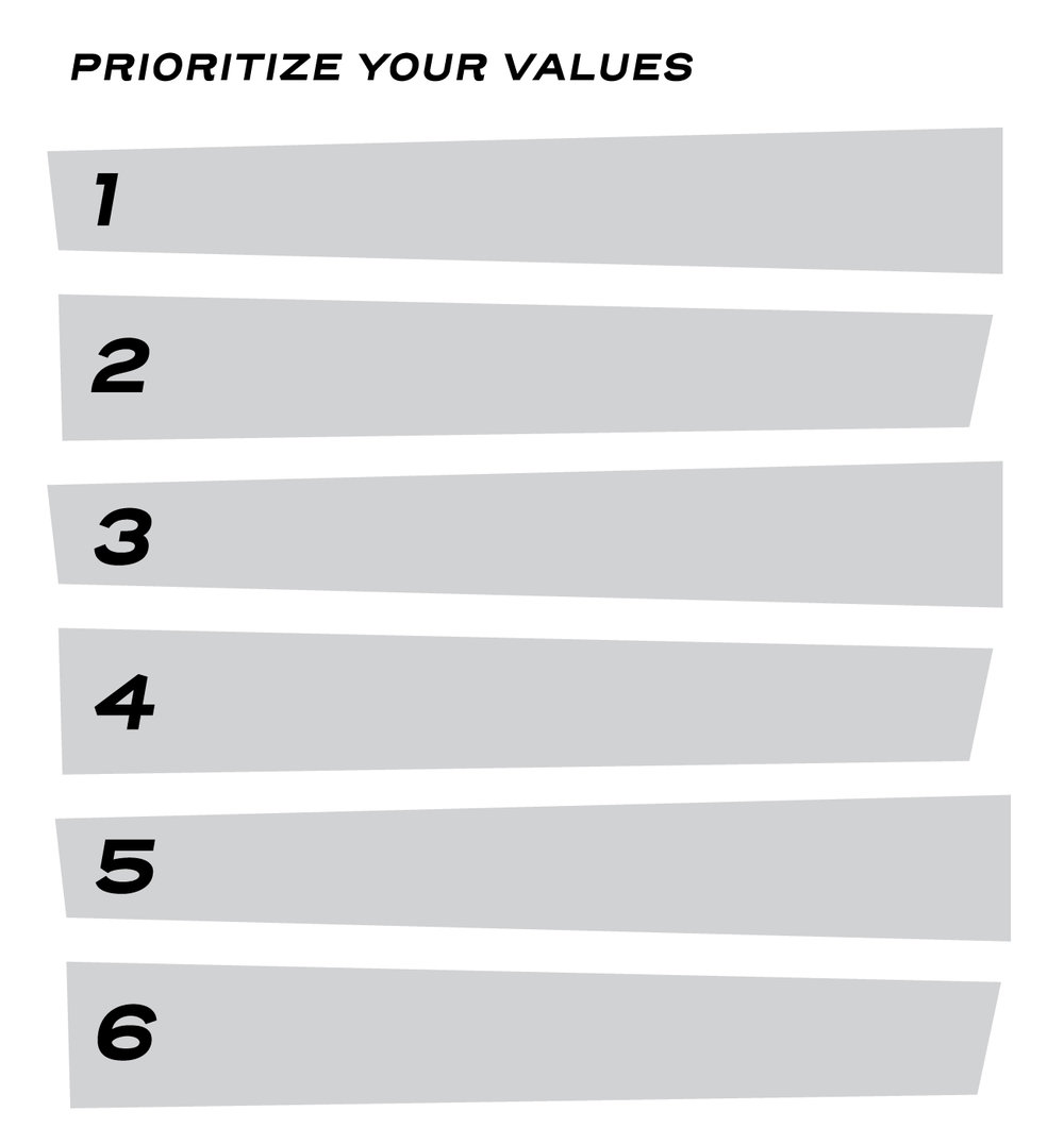 Optional: Take the money values your wrote, and put them in order.