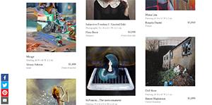 "Saatchi Art's ""Strange Visions"" Collection"