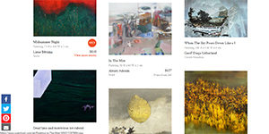 """Saatchi Art's """"The World Outside: Landscapes"""" Collection"""