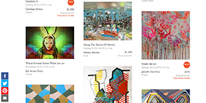 "Saatchi Art's ""Multi-Color"" Collection"