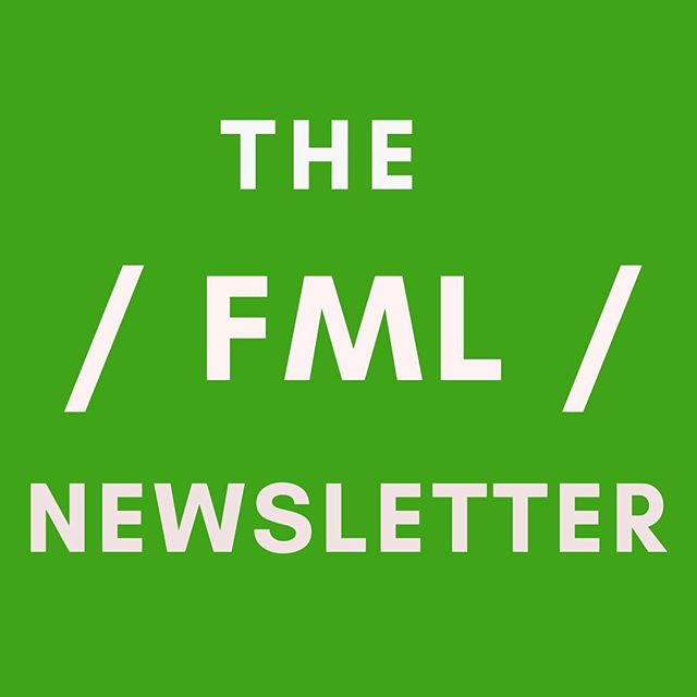 May I introduce you to the FML newsletter! It will include a first peek at upcoming events (our imposter syndrome workshop sold out within a week) as well as essays across mental wellbeing, general life shizz from work to life change to dating to relationships to self worth, plus an 'FML, what do I do?' section where people can send in questions. To sign up, link in bio. #instagram #mentalwellbeing #wellbeing #writer #newsletter