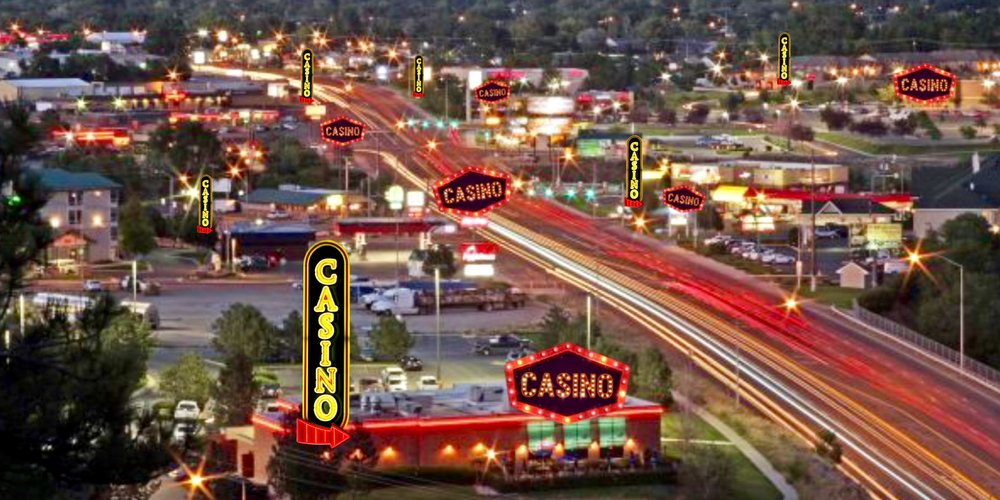 The casino strip in the billings heights