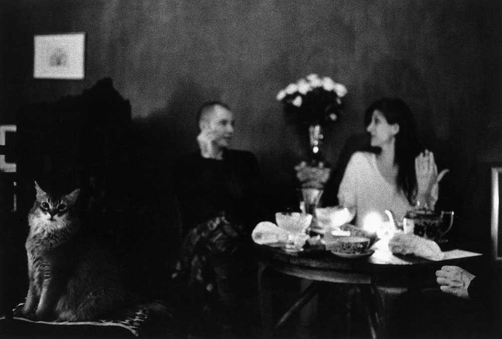 Achilles, Frank and Linda, New York, 1995
