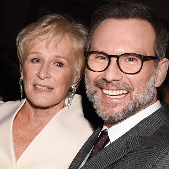 Last night Glenn Close was honored by the Museum Of Moving Image at 583 Park. Christian Slater and many others were there to celebrate with her. Read all about it here: https://patch.com/new-york/new-york-city/museum-moving-image-salute-glenn-close-slater-photos All photos by @danielakirsch  #glennclose #christianslater #museumofmovingimage #583park #thewife #jimdale @realchristianslater @glenncloseofficial @583parkavenue @coraliecharriol