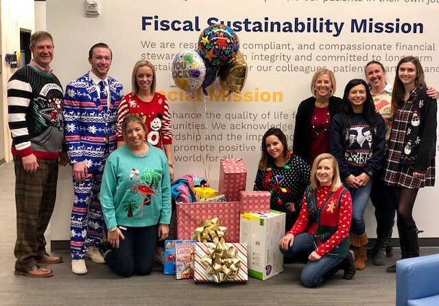 Aspenti Health showing some serious holiday kindness to @lundvt #wildkind #toysforkids #uglysweater
