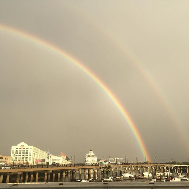 Just because it's been a while since I posted. #southiedoublerainbow