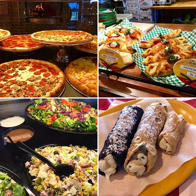 The Pizzas 🍕, Salads, Calzones, Panini and even the Cannolis are ready.... ...Are You?!