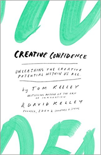 Creative Confidence Tom & David Kelley - It's easy to think that we're not creative if we're not artistically inclined, but this book is here to prove ourselves wrong. Anyone can be creative by using the steps outlined in Tom and David Kelley's book, Creative Confidence. Through inspiring stories from their work at IDEO and with many of the world's top companies and design firms, they identify the principles and strategies that will allow us to tap into our creative potential in our work and personal lives. (Google Books)