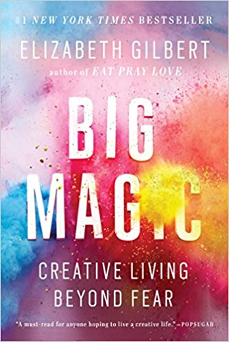 Big Magic Elizabeth Gilbert - By sharing stories from her own life, as well as those from her friends and the people that have inspired her, Elizabeth Gilbert challenges us to embrace our curiosity, tackle what we most love and face down what we most fear. Whether you long to write a book, create art, cope with challenges at work, embark on a long-held dream, or simply to make your everyday life more vivid and rewarding, this book will take you on a journey of exploration. (Google Books)