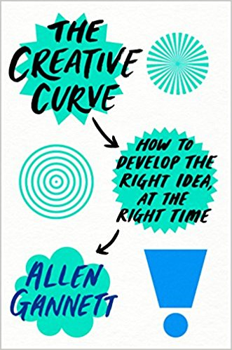 The Creative Curve Allen Gannett - A great idea isn't a sudden light-bulb moment. It's taking something familiar and making it feel new. Allen Gannett's book reveals the four laws of creativity that are proven to work. Packed with stories and insights, this book will help you spend less time on ideas destined to fail and more time on ideas that really break out. (Google Books)