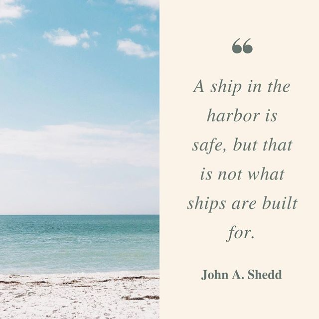 Imagine the possibilities, if you just let yourself explore the open seas. On this #motivationalmonday, we hope you let yourself explore new opportunities for your small business - no matter how intimidating they may be. #entrepreneurlife