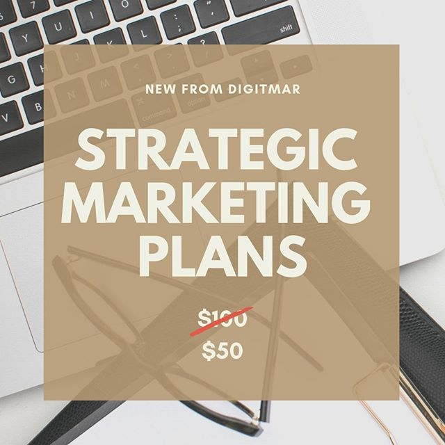 It's finally here! Digitmar now offers customized strategic marketing plans. This is the perfect investment for your business if you want to grow but you're not sure how to get to the next level. For a limited time, you can get a customized 3-month marketing plan for $50! Even better, you'll receive a $100 credit if you decide to use Digitmar to implement your new strategy. #smallbusinesstips #smm #marketingstrategy