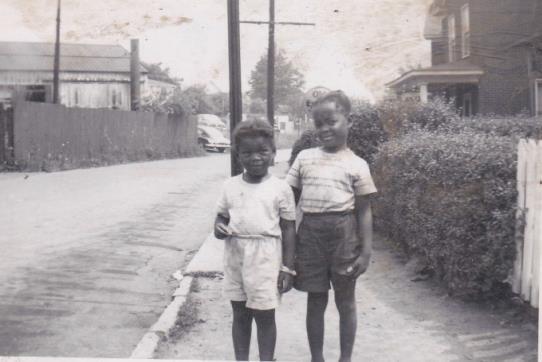 Lois Ann White (left) and Connie Carter on Park Ave.jpg