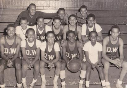 Dickerson and John Wesley basketball team.jpg