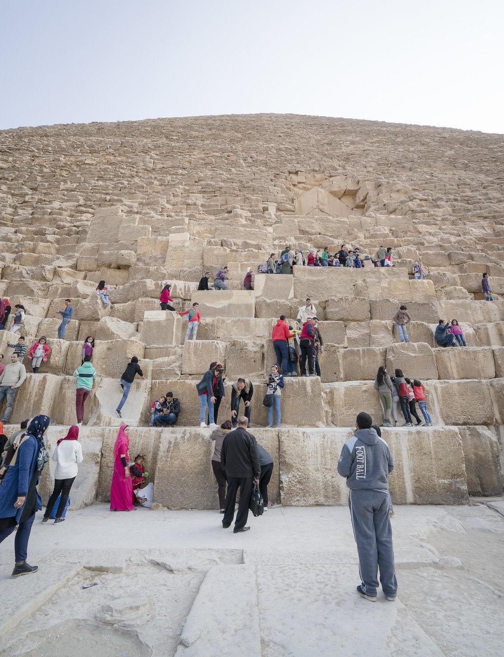 Base of Giza Pyramid