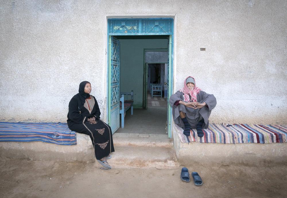 A peek into a Nubian home.