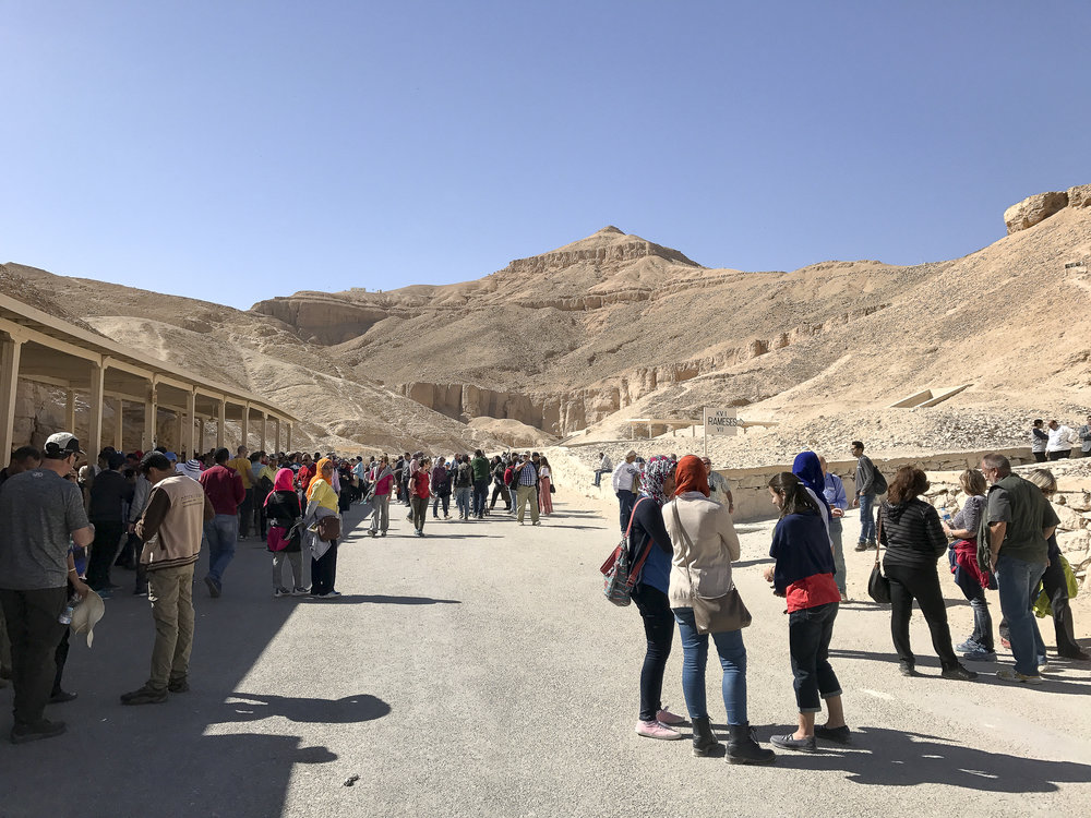 Entering the Valley of the Kings