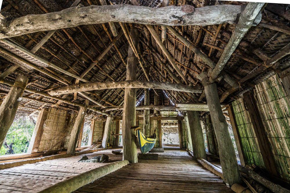 Inside the men's house