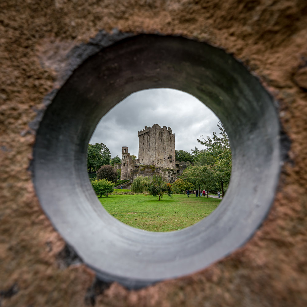 Blarney Castle - No visit is complete without kissing the Blarney Stone!