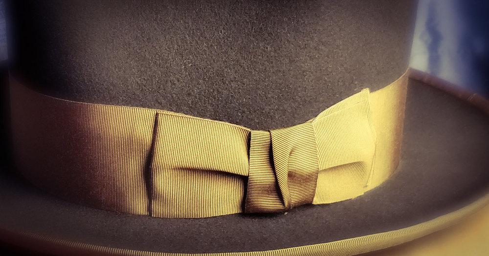 50 mm Vintage Green Ribbon, Cotton/Rayon blend