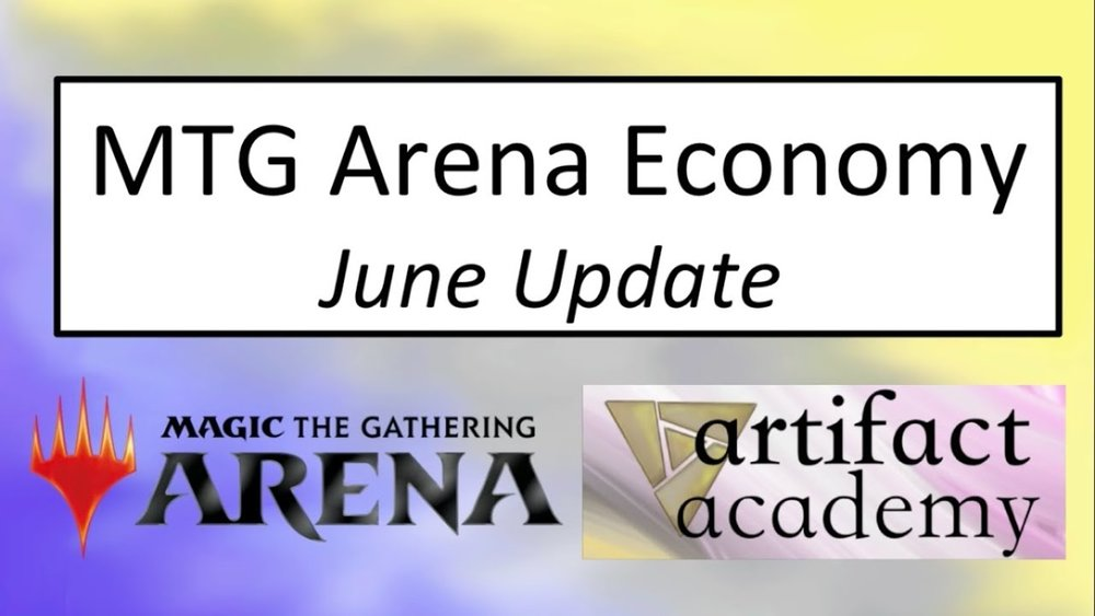 MTGA Economy (June 2018) - MTGA had another round of economy changes. How do these shape up?Video - Neon
