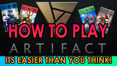 How to Play Artifact - Introduction to Artifact gameplay.Video - AngerMania