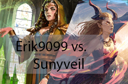 Game of the Week #1: Erik 9099 v. Sunyveil - Deckbuilding decisions can have a big impact on the outcome of a game.Video - Neon - August 19, 2018