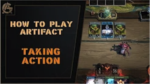 Taking Action - What we need is action! The Artificer's Guild teaches us about the action phase.Video - The Artificer's Guild - August 24, 2018
