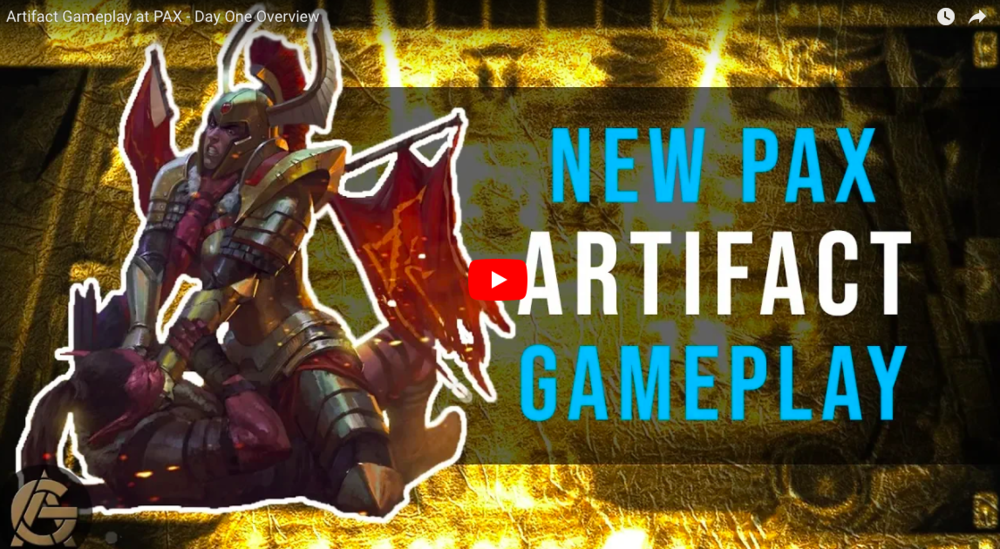 New Artifact Gameplay -