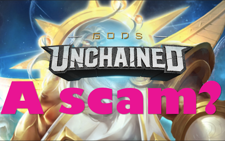 Is Gods Unchained a Scam? - Welcome to the wild world of blockchain gaming.Article/Video - Neon - September 17, 2018