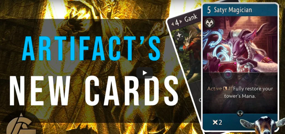 Week One Artifact Previews - All hail Goat week!Video - The Artificer's Guild - September 24, 2018