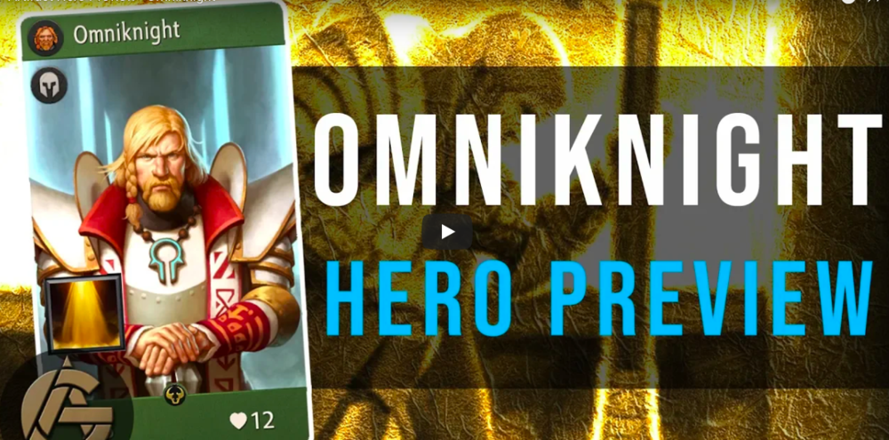 Hero Preview: Omniknight - Your personal tanky healer boi.Video - The Artificer's Guild - October 3, 2018