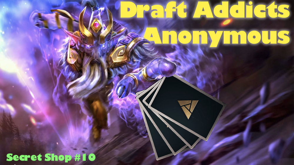 Draft Addicts Anonymous - Anger gets the boys hyped about draft!Podcast - Secret Shop - October 9, 2018