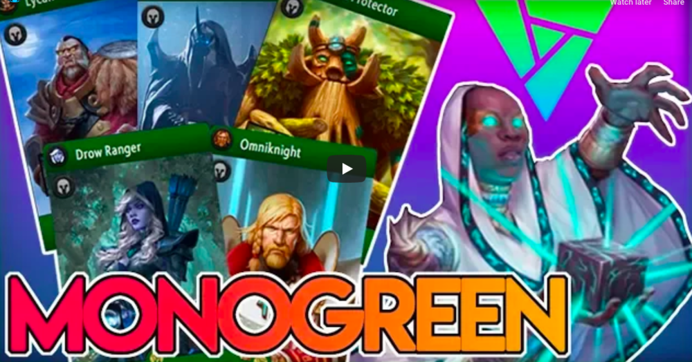 Mono Green - Why be fancy when you can be beefy?Video - AngerMania - October 22, 2018