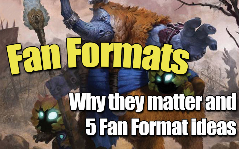 Artifact Fan Formats - Why they matter, and 5 Fan Format Ideas.Article - Neon - November 2, 2018