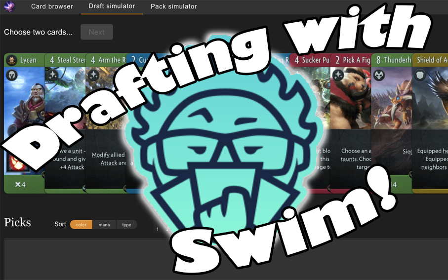 Drafting with Swim! - Watch Swim coach Neon for your education!Video - Neon - November 9, 2018
